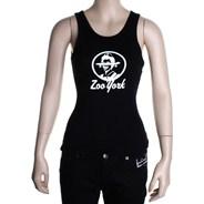 Zooteria Rib Vest Top - Black