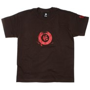Stamp Youths S/S T-Shirt - Dark Chocolate