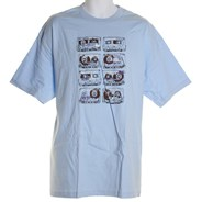 Tapes S/S T-Shirt - Sky Blue
