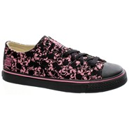 Brooklyn Punkskull Black/Pink Shoe