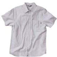 Stripe Button Up S/S Shirt