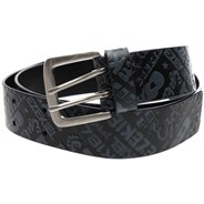 Bowers Leather Belt - Black