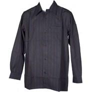 Transport L/S Shirt - Black/Chocolate
