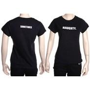 Naughty Girls Ltd Edition S/S Tee - Black