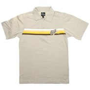Slider S/S Polo Shirt - Stone