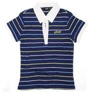 Speedster Custom Knit Polo Shirt - Navy
