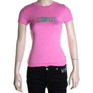Stencil S/S Tee - Pink