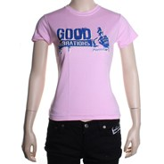 Good Vibrations Girls S/S Tee - Pink