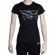 Eagle Slim Girls Tomboy S/S Tee - Black