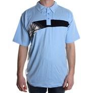 Butane S/S Polo Shirt - Light Blue