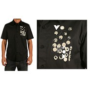 Relic Woven S/S Shirt - Black