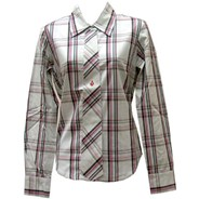 Straight as Button Front Shirt