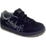 Little Famous Natas Black Kids Shoe