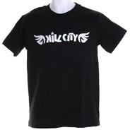 Wings S/S T-Shirt - Black