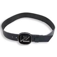 Icon Leather Belt - Black