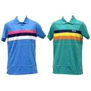 Vintage Stripe S/S Polo Shirt