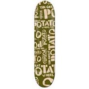 Green Potato Logo Skateboard Deck