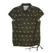 Payton Cap-Sleeve Shirt