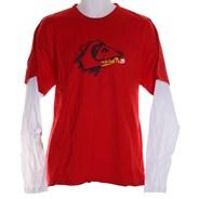 Twitch 2-Fer L/S T-Shirt - Red