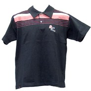 Bullet Black/Pink S/S Polo Shirt