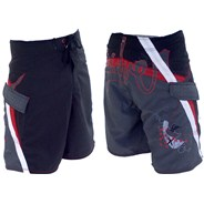 Clash City Boardshorts - Black