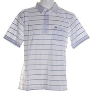 Deal S/S Polo Shirt - White