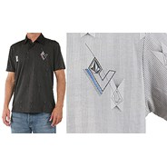 Vela S/S Polo Shirt - Black