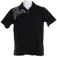 Pax S/S Polo Shirt - Black