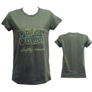 Trailblazer Sheer Girls S/S Tee - Vintage Green