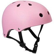 Essentials Matt Pink Helmet