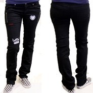 Punker Stovepipe Jeans