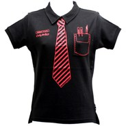 Rock School Fitted S/S Polo Shirt