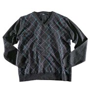 Gile Argyle Sweater