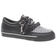 2 Ring Woven Check Shoe