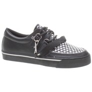 2 Ring Woven Check Shoe