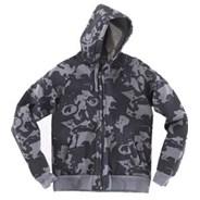 Jago Night Camo Thermal Fleece Zip Hoody