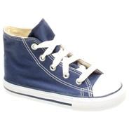 All Star Hi Navy Toddler Shoe 7J233