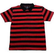 Bass Striped Jersey Polo