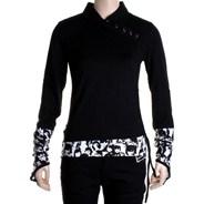 Lingo L/S Girls Polo Shirt - Black