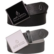 Squareback Leather Belt