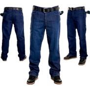 Loose Indigo Denim Jeans