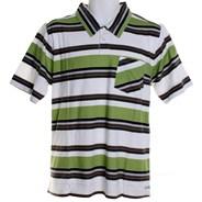 Settle Down S/S Polo Shirt - Green