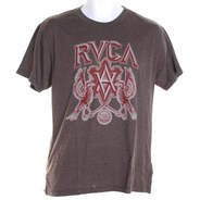 Indo Crest S/S T-Shirt - Heather Brown