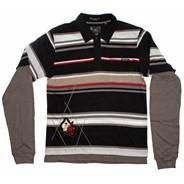 Suspect L/S 2Fer S/S Polo Shirt
