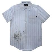 Oversight S/S Woven Shirt - Cashmere Blue