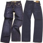 L.E.S. Regular Rinse Wash Jean