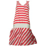 Madonna Rouge Red Striped Dress