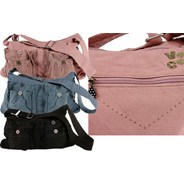 Twill and Grace Hobo Bag