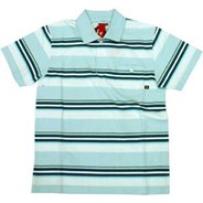 Uncle Rico Sky Blue S/S Polo Shirt
