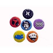 Hurley Badge Pack 2